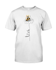 Let It Be Flowers Classic T-Shirt front