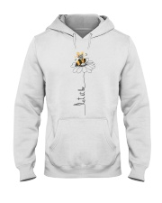 Let It Be Flowers Hooded Sweatshirt thumbnail