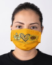 Peace Love Sunshine Cloth face mask aos-face-mask-lifestyle-01