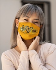 Peace Love Sunshine Cloth face mask aos-face-mask-lifestyle-17