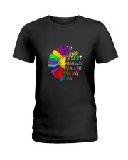 On A Dark Desert Highway 1 Ladies T-Shirt thumbnail
