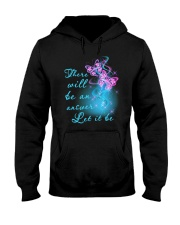 There Will Be An Answer Hooded Sweatshirt front