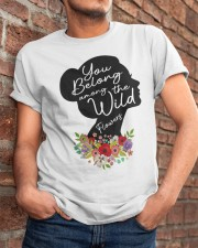 Belong Among The Wildflowers Classic T-Shirt apparel-classic-tshirt-lifestyle-26