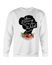 Belong Among The Wildflowers Crewneck Sweatshirt thumbnail