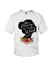 Belong Among The Wildflowers Youth T-Shirt thumbnail