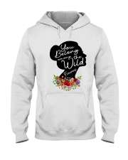 Belong Among The Wildflowers Hooded Sweatshirt thumbnail