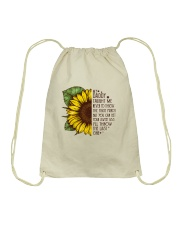 Throw The Last One Drawstring Bag tile