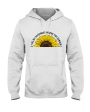 Happiness Where The Sunshine Hooded Sweatshirt thumbnail