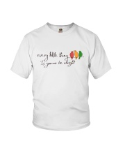 Every Little Thing Is Gonna Be Alright Hippie  Youth T-Shirt tile