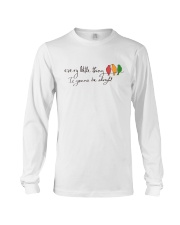 Every Little Thing Is Gonna Be Alright Hippie  Long Sleeve Tee tile