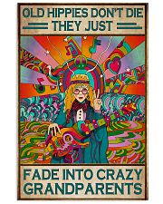 Old Hippies Dont Die 11x17 Poster front