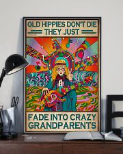 Old Hippies Dont Die 11x17 Poster lifestyle-poster-2