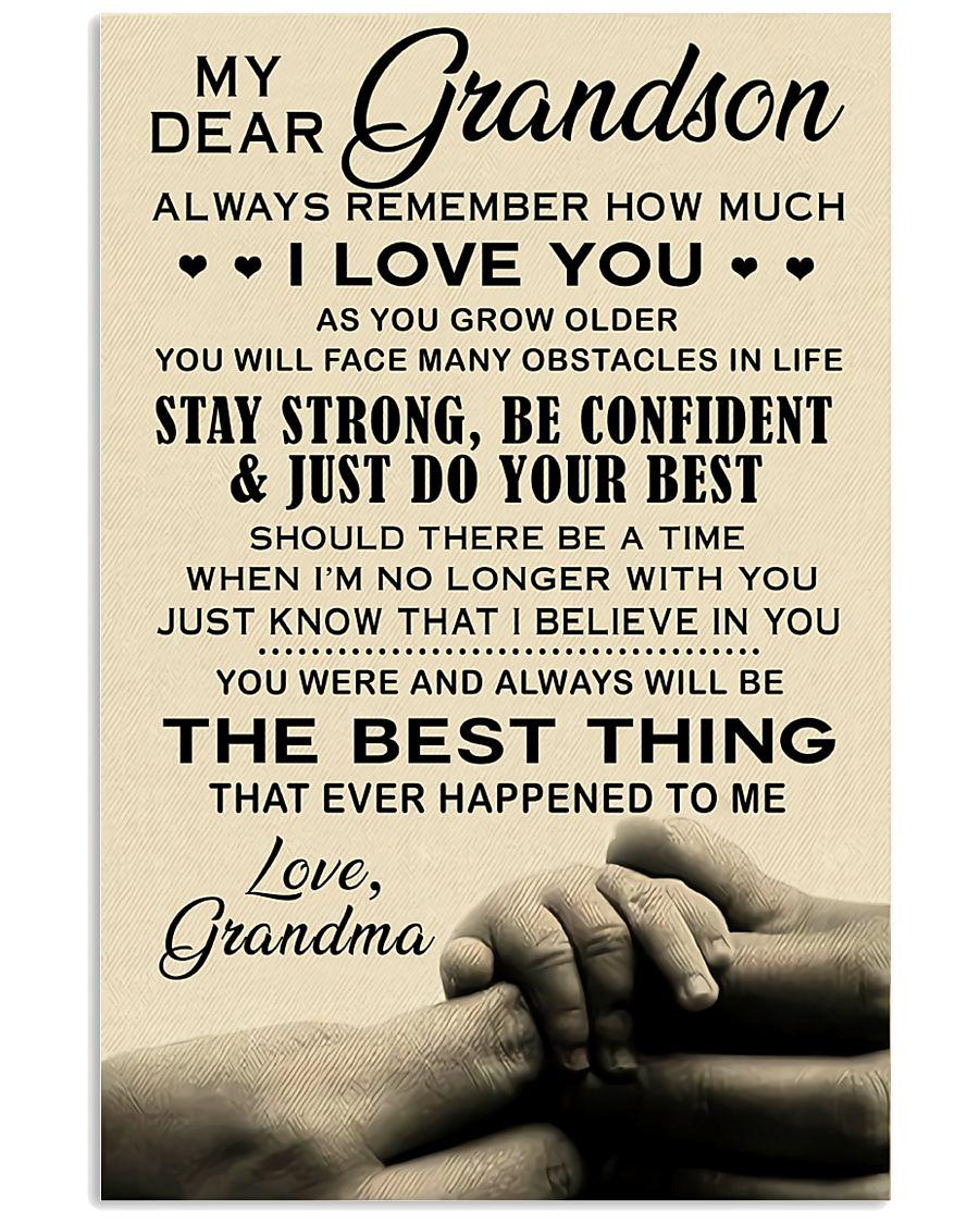 My Dear Grandma 11x17 Poster