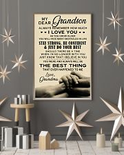 My Dear Grandma 11x17 Poster lifestyle-holiday-poster-1