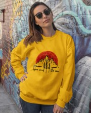 Here Comes The Sun Crewneck Sweatshirt lifestyle-unisex-sweatshirt-front-3
