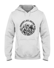 Freedom Is Just Another World 3 Hooded Sweatshirt thumbnail