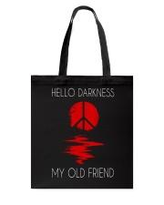 Hello Darkness Hippie Tote Bag thumbnail