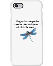 Touch Dragonflies And Stars Phone Case thumbnail