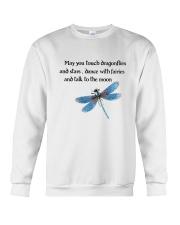 Touch Dragonflies And Stars Crewneck Sweatshirt thumbnail