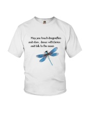 Touch Dragonflies And Stars Youth T-Shirt thumbnail