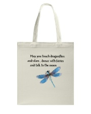 Touch Dragonflies And Stars Tote Bag thumbnail