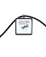Touch Dragonflies And Stars Cord Rectangle Necklace thumbnail