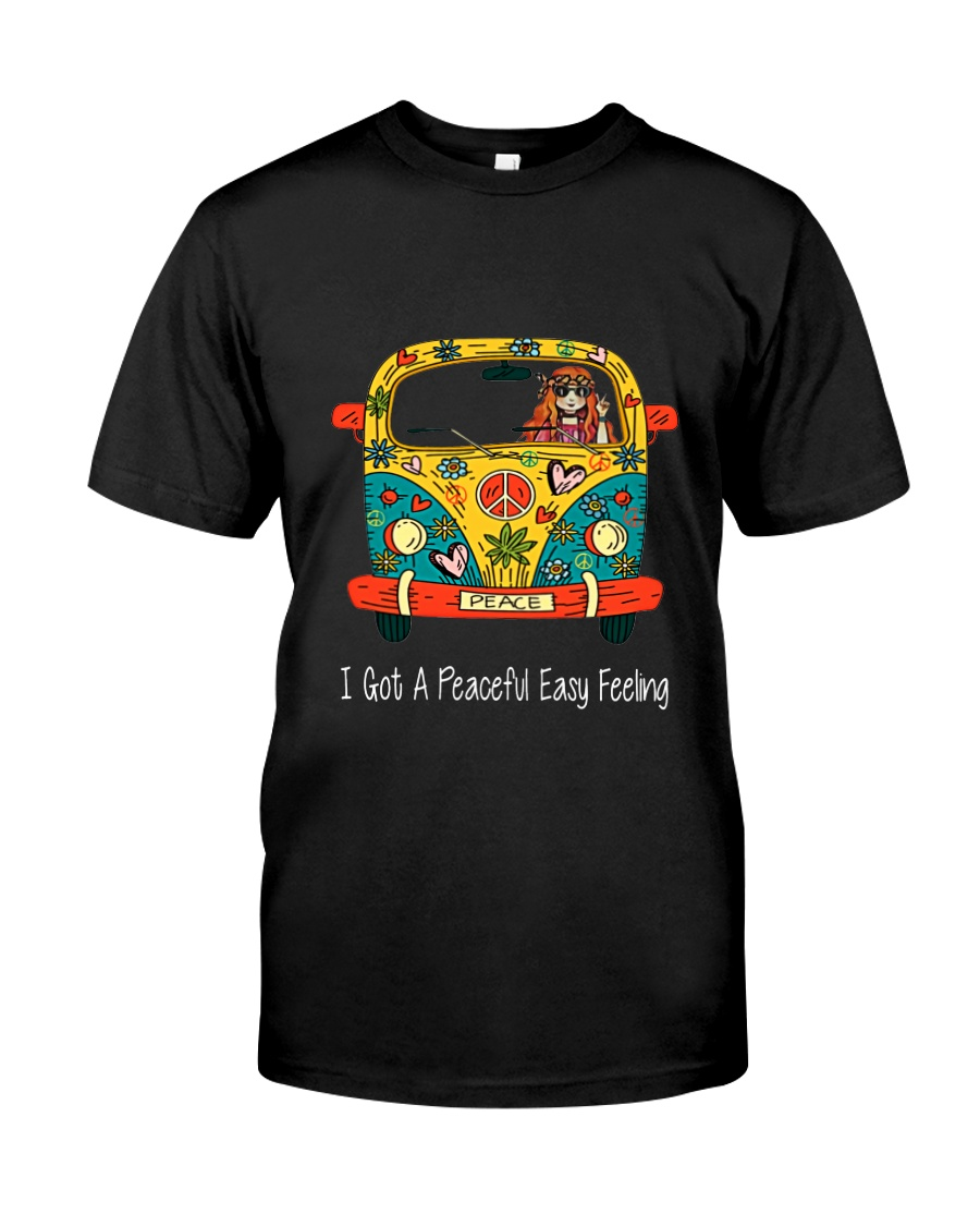 Peace Easy Feeling 1 Classic T-Shirt