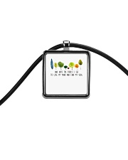 And Into The Forest I Go Cord Rectangle Necklace thumbnail