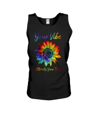 Your Vibe Attracts Your Tribe Unisex Tank thumbnail