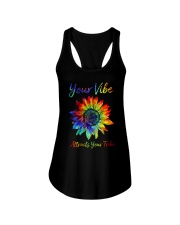 Your Vibe Attracts Your Tribe Ladies Flowy Tank thumbnail