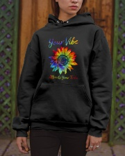 Your Vibe Attracts Your Tribe Hooded Sweatshirt apparel-hooded-sweatshirt-lifestyle-front-03