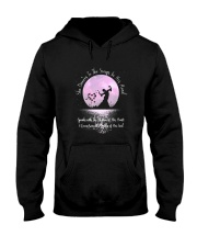 She Dances To The Song 1 Hooded Sweatshirt front