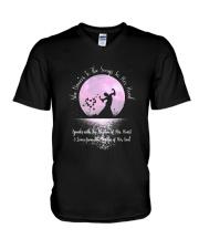 She Dances To The Song 1 V-Neck T-Shirt thumbnail