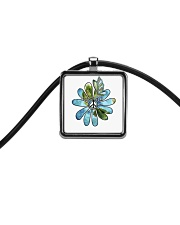 Imagine Cord Rectangle Necklace thumbnail