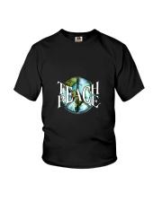 Teach Peace Youth T-Shirt thumbnail