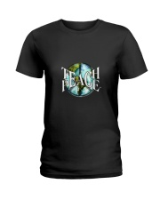 Teach Peace Ladies T-Shirt thumbnail