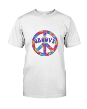 Groovy Hippie Classic T-Shirt front