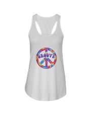 Groovy Hippie Ladies Flowy Tank thumbnail