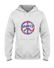 Groovy Hippie Hooded Sweatshirt thumbnail
