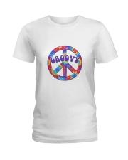 Groovy Hippie Ladies T-Shirt thumbnail