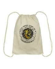 Old Hippie Do Not Die Drawstring Bag thumbnail
