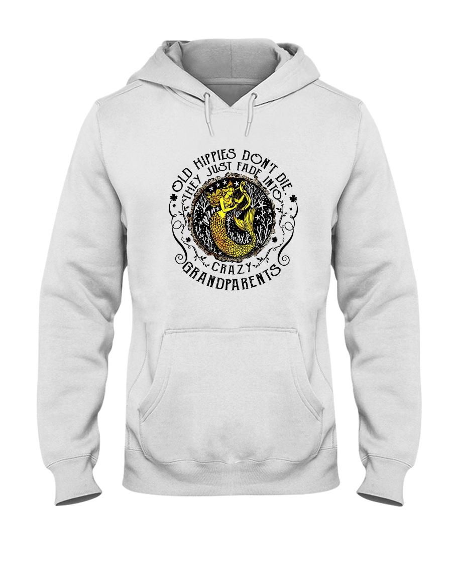 Old Hippie Do Not Die Hooded Sweatshirt