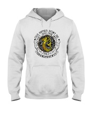 Old Hippie Do Not Die Hooded Sweatshirt front