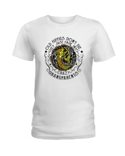 Old Hippie Do Not Die Ladies T-Shirt thumbnail