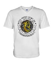 Old Hippie Do Not Die V-Neck T-Shirt thumbnail