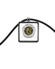 Old Hippie Do Not Die Cord Rectangle Necklace thumbnail