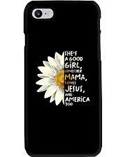 She Is A Good Girl Phone Case thumbnail