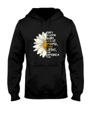 She Is A Good Girl Hooded Sweatshirt front