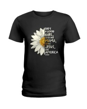 She Is A Good Girl Ladies T-Shirt thumbnail