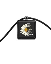 She Is A Good Girl Cord Rectangle Necklace thumbnail